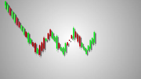 4K Bearish Rectangle Stock Chart Pattern 1 Animation