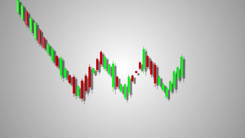 4K Bearish Rectangle Stock Chart Pattern 5 Animation