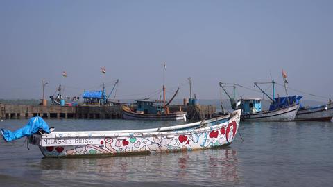 Sea port in the Chapora Archivo