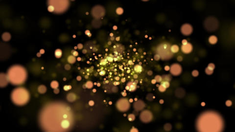 Light particle diffusion Animation