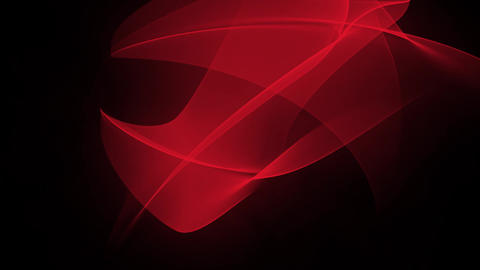 Red abstract background Animation