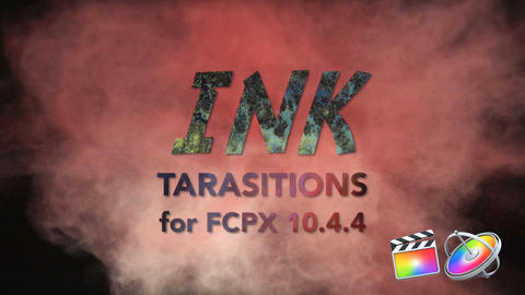Ink Transitions Plantilla de Apple Motion