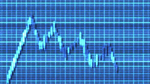 4K Ascending Channel Bullish Sci-Fi Stock Chart Pattern 2 Animation
