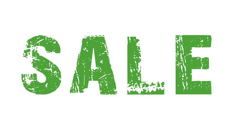 SALE animated text with moving hand and finger 31 Animation