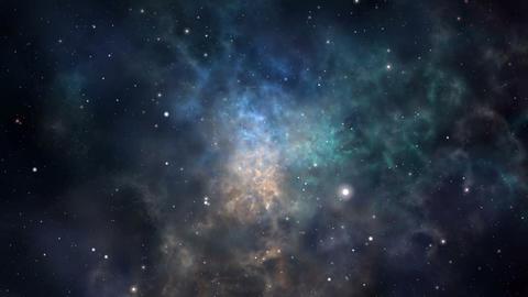 [alt video] Loopable nebula flight