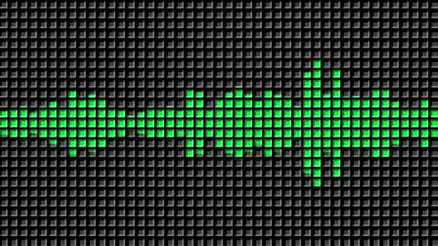 Audio Equalizer seamless animation Videos animados