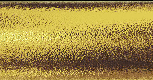 gold foil texture background 3D rendering Animation