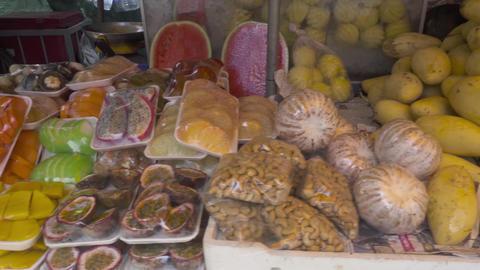 Thailand fresh fruits prepare Stock Video Footage