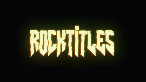 RocknRoll Titles After Effects Template