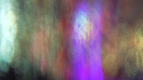 Casual multi-colored dynamic vintage dreamy glittering background Footage