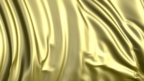 Golden Fabric Animation