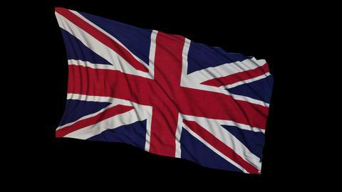 British Flag Animation