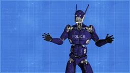 police robot animation Animation