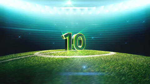 Soccer Countdown-Combined Animation