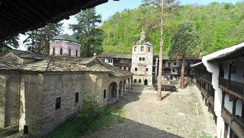 The Monastery Of The Dormition Of The Most Holy Mother Of God. A Sixteenth-Century Bulgarian Live Action