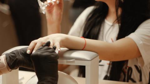 Luxury service for spa salon clients Live Action