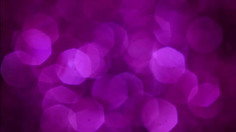 Violet Merry Christmas magical bokeh lights background. Full HD video for the Footage