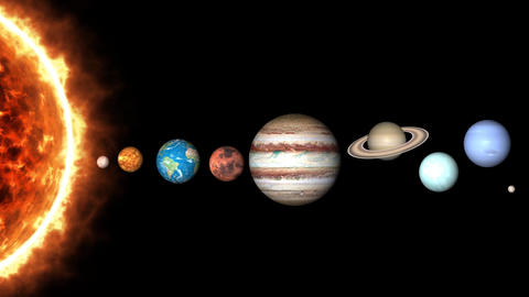 All Planets And Sun 1