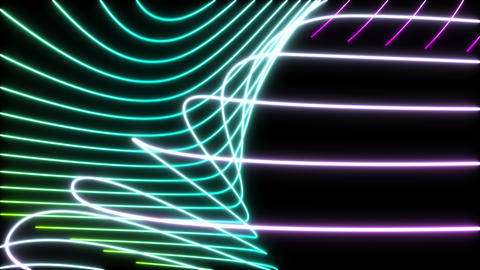 Line Art ,Color ,Loop _1 CG動画