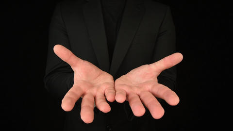 Business Man Hand Gestures