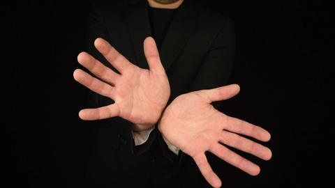 Business Man Hand Gestures 0