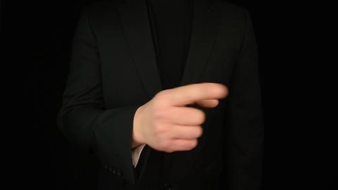 Business Man Hand Gestures 1