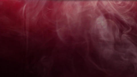 Isolated smoke effect on purple, red background. White fog footage, smoky, cloud, smog, gas Live Action
