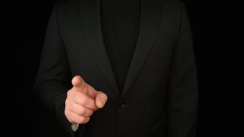 Business Man Hand Gestures 2