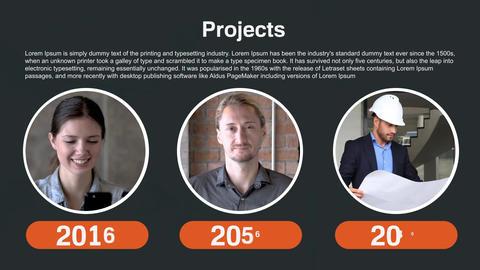 Bullseye Modern corporate presentation After Effects Template
