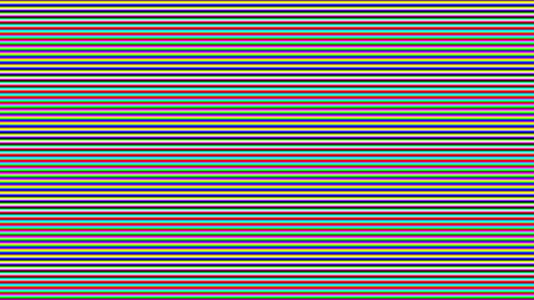 Colorful illusion, optical background. VHS distortion, retro effect, old type television effect Animation
