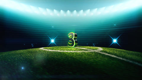 Soccer Countdown-3 Animation