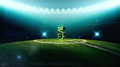 Soccer Countdown-5 Animation