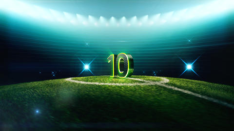 Soccer Countdown-10 Animation