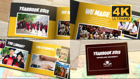 Year Book After Effects Template