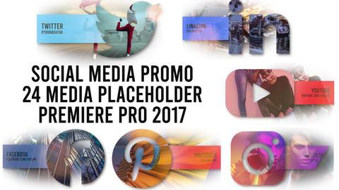 Social Media Promo Premiere Pro Template