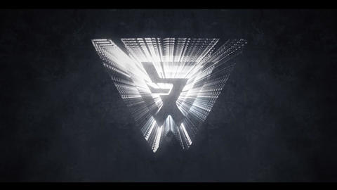 SILVER LOGO INTRO After Effects Template