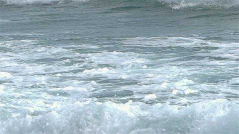 Big Sea Waves Create a Crashing Motion Footage