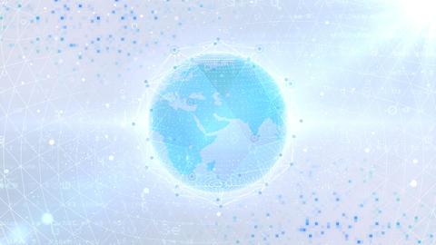 Earth on Digital Network 18 P1WS 4k GIF