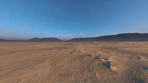 砂漠 CG動画素材