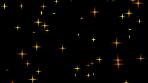 the starry background particles After Effects Template