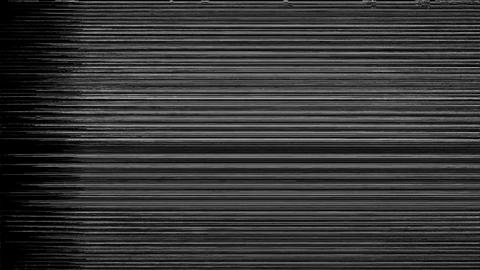 A Flickering, Analog TV Signal With Bad Interference Analytics Animation