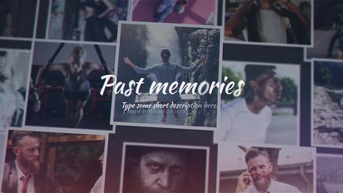 Past Memories After Effects Template