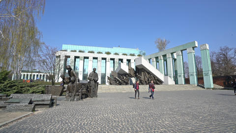 Monument to the Warsaw uprising Live Action