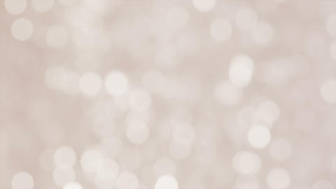 Glittering soft gray bokeh background with flickering light particles Animation