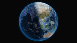 Earth, view from outer space Archivo