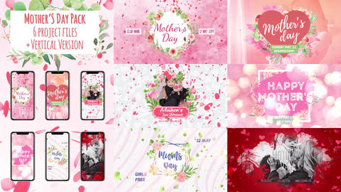 Mother's Day Package After Effects Template