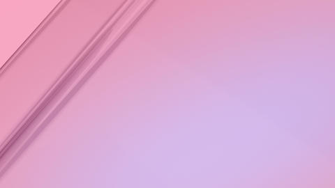 Abstract soft pink colored lines animation. 4K Resolution glowing moving stripes background CG動画