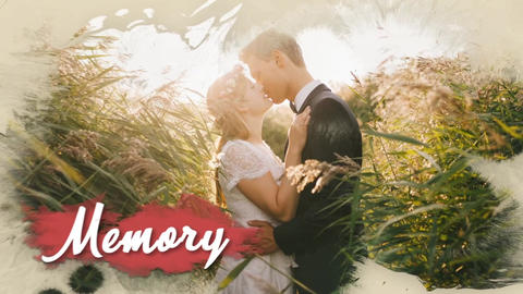 Wedding ink slideshow (After Effects template) After Effects Template