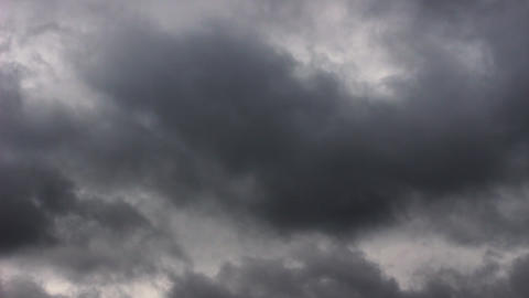 Beautiful nature clouds closeup timelapse. Meteorology cloudscape environment Live Action