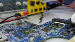 Electronic circuit board testing and repair Live Action